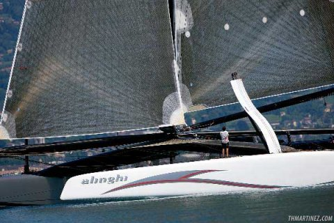 America's Cup Boat Alinghi 5